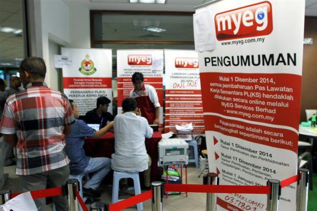 Contoh Saham Patuh Syariah – MyEG Services Bhd