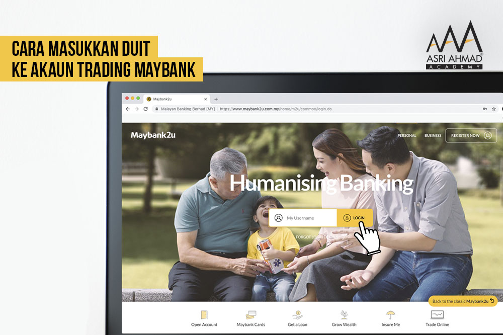 Tutorial Bergambar Cara Nak Masukkan Duit Ke Dalam Akaun Trading Maybank Investment