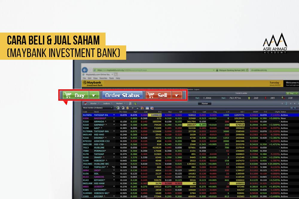 Cara Beli dan Jual Saham Menggunakan Trading Platform Maybank Investment