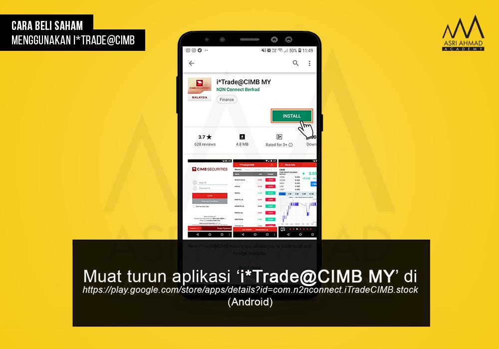 Tutorial Bergambar Cara Beli Saham Guna Aplikasi i*Trade ...