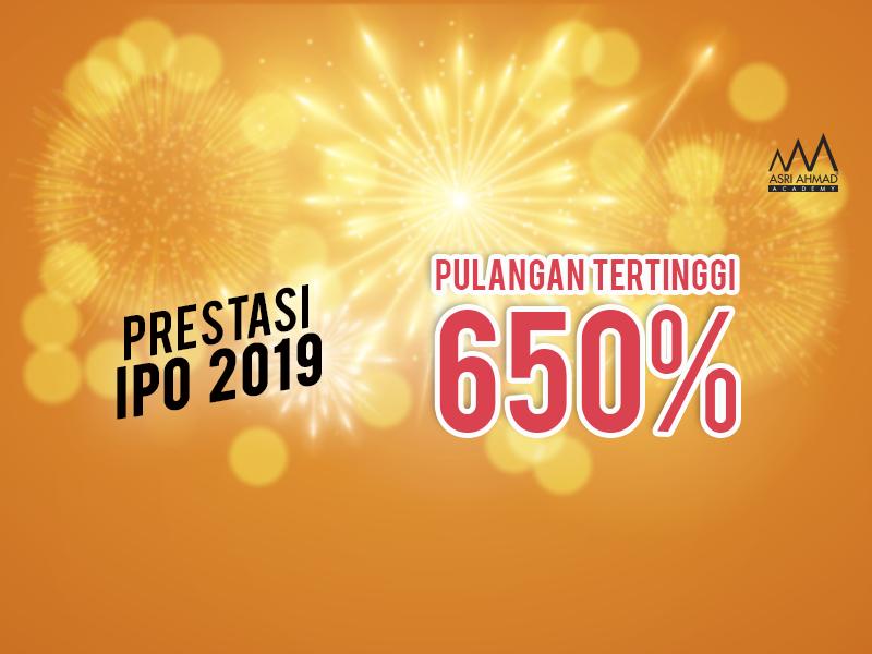 Prestasi IPO Bagi Tahun 2019, Ada Yang Pulangannya Sampai 650%!