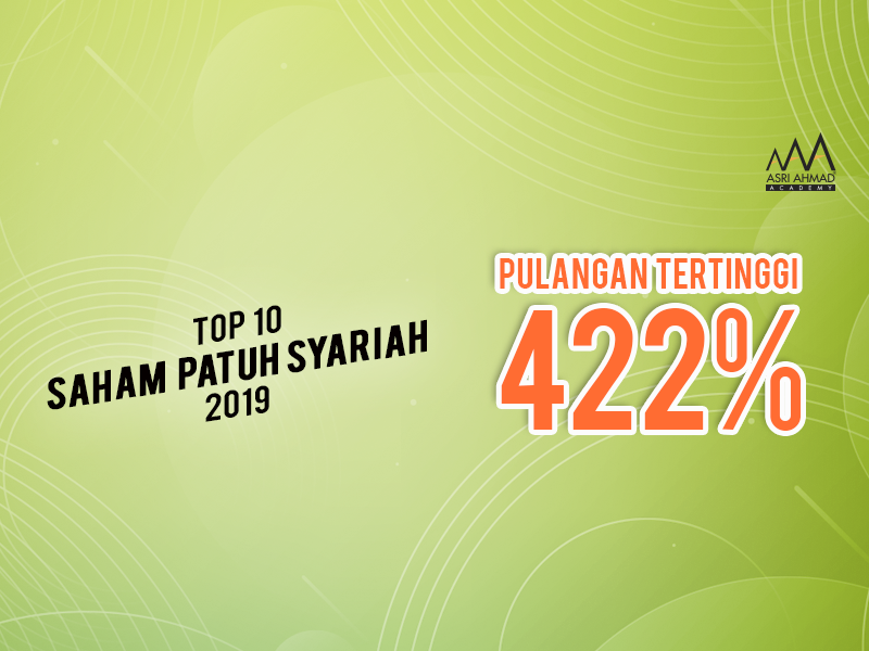 Top 10 Saham Patuh Syariah 2019, Ada Yang Pulangannya Sampai 422%!